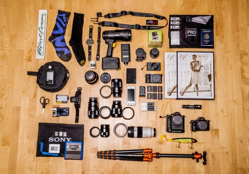 What's In My Bag: Robert Evans