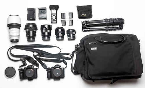 What's In My Bag: Gary Chapman Still & Motion Gear for an NGO Project in India