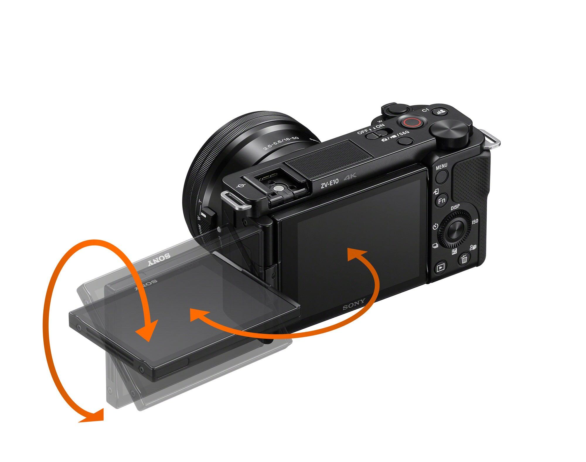 Sony ZV-E10 & Vari-angle LCD Screen