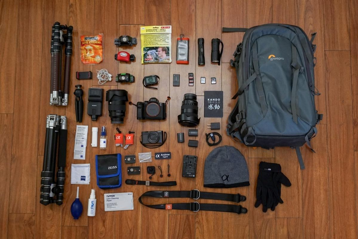What's In My Bag: Andrew Eggers' Night Shooter and Astro Kit