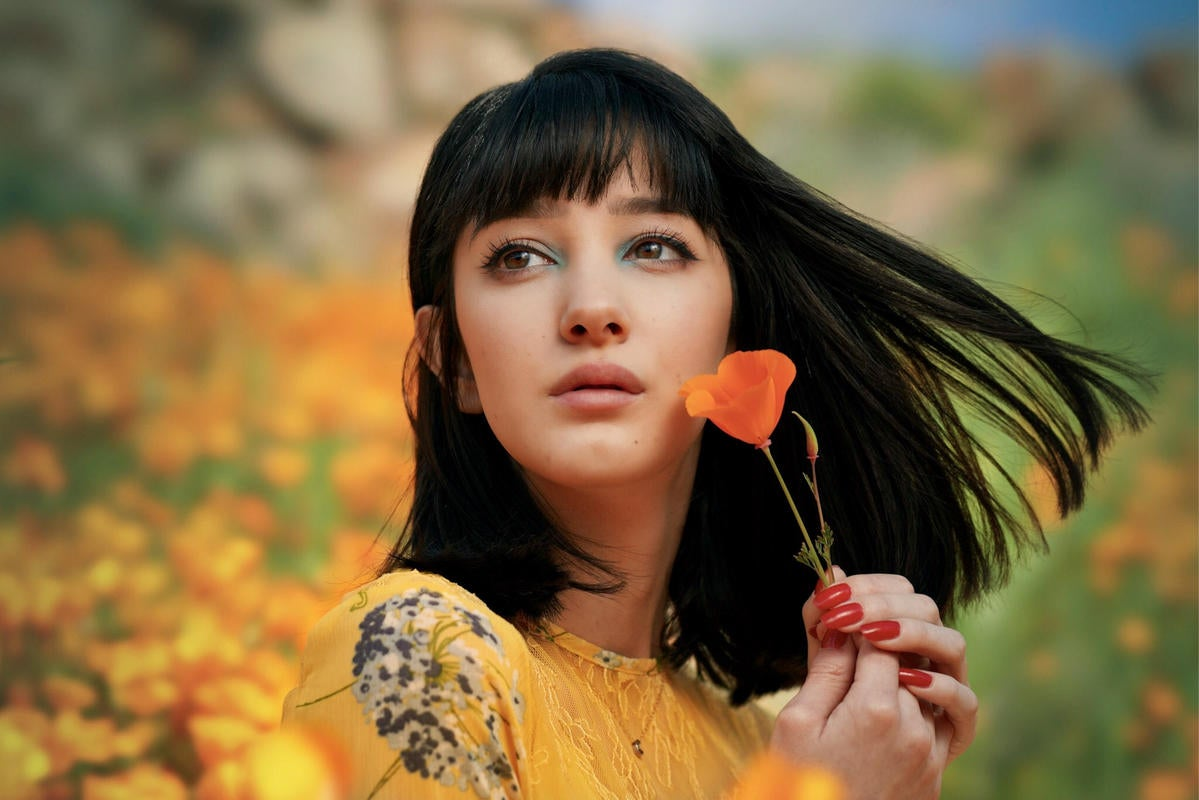 Behind The Shot: How A Unique Lens Made This Portrait In The Poppies