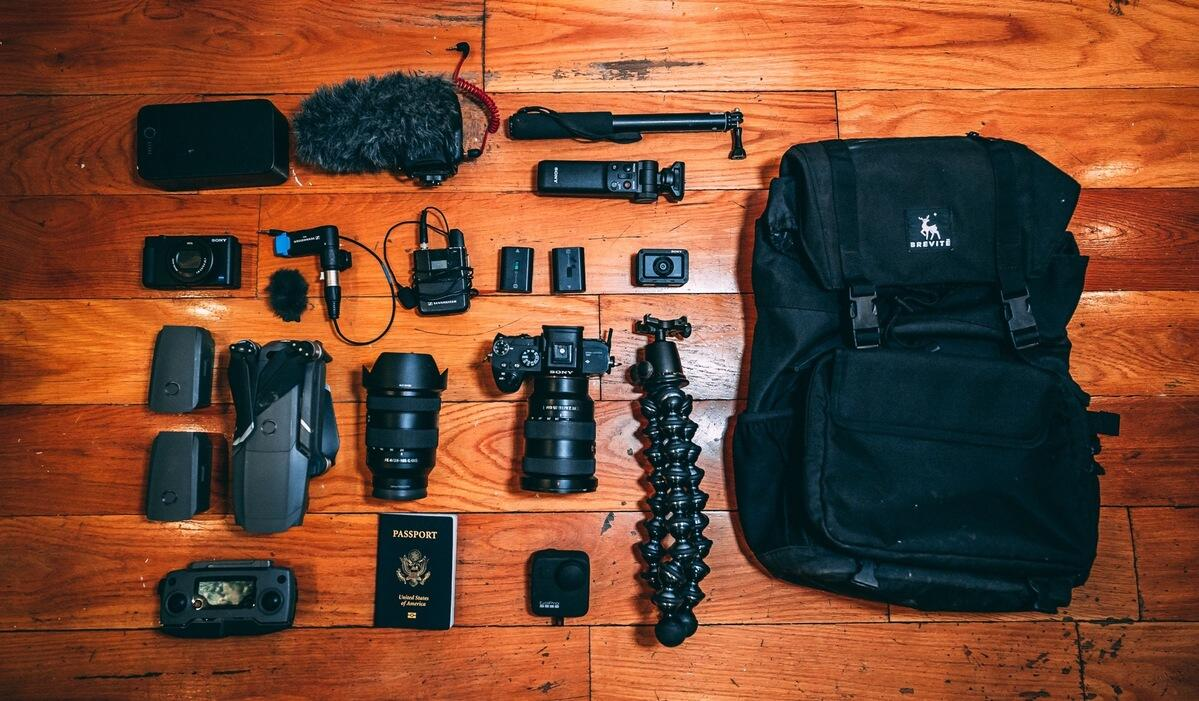 What's In My Bag: Travel YouTuber Brett Conti Takes Us Through His Content Creation Kit
