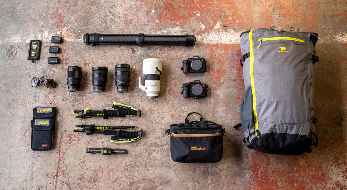 What's In My Bag: Chris Burkard's Minimal Kit For An Iceland Expedition