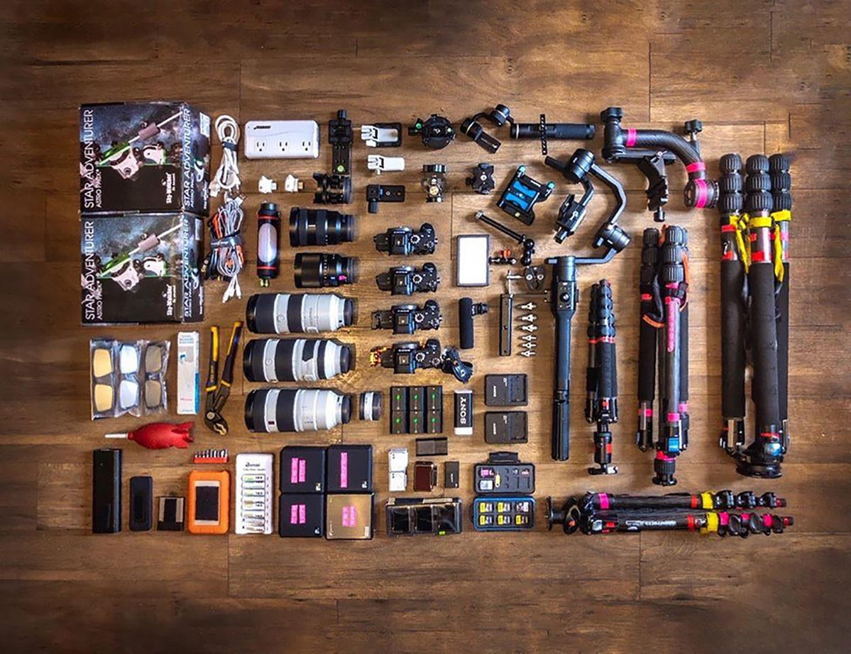 What's In My Bag: Dan Marker-Moore's Gear For Eclipse Timelapses