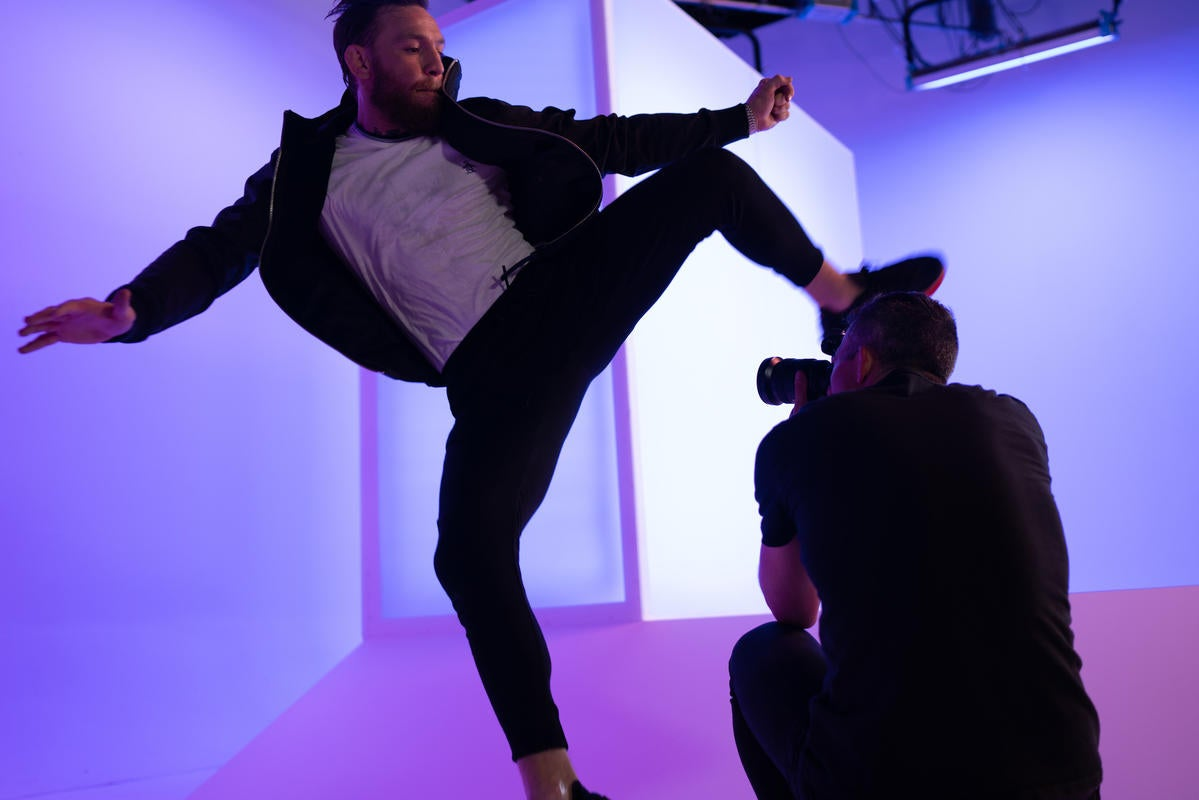 Behind The Scenes Of Reebok's New Global Campaign Featuring Conor McGregor
