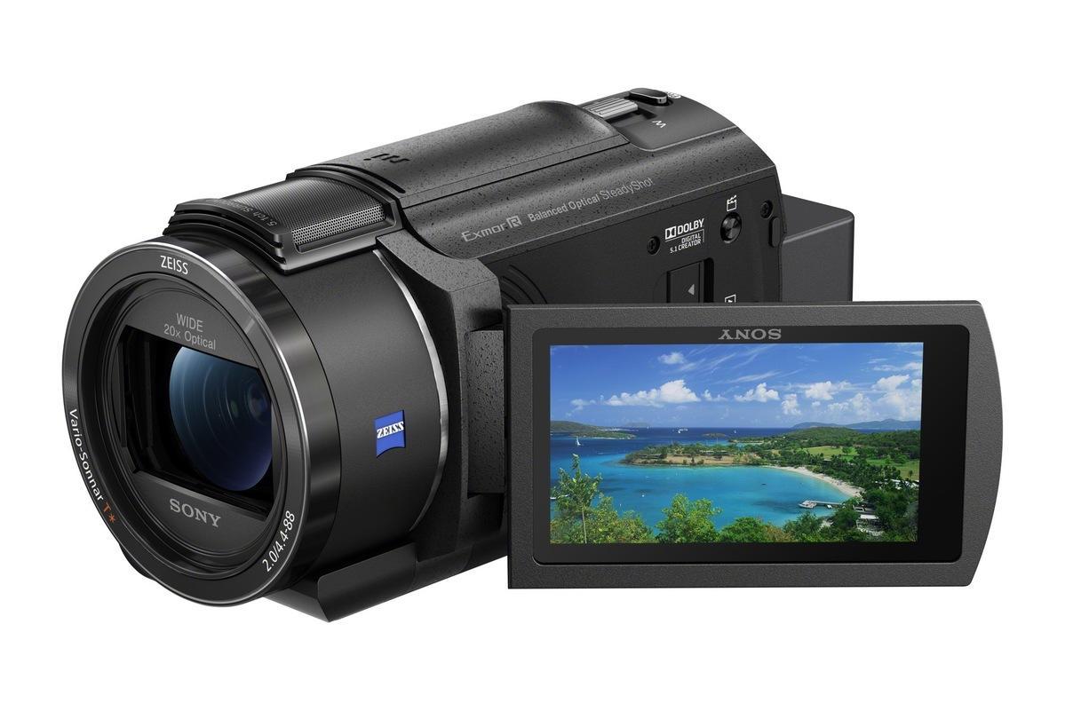 Sony Announces New FDR-AX43/B Compact 4K Handycam