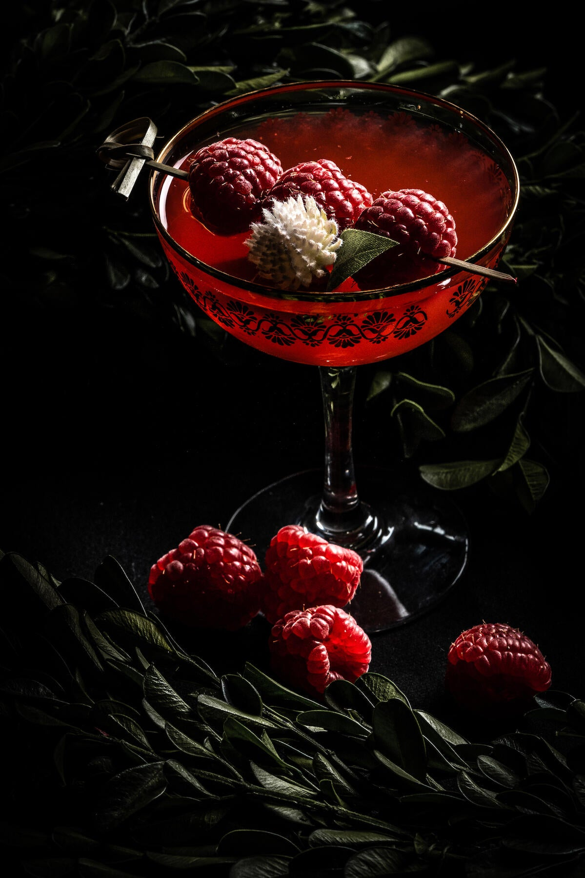 Behind The Shot: How A Bar's Aesthetic Was Captured In Single Cocktail Photo With A Macro Lens
