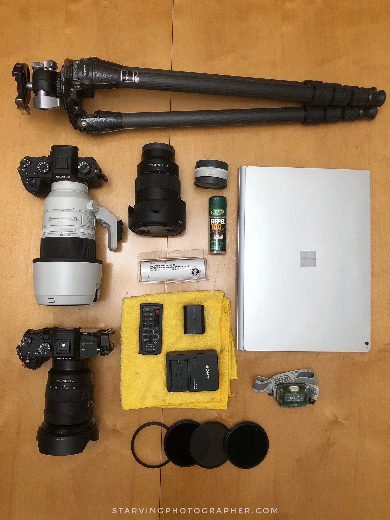What's In My Bag: Mahesh Thapa's (@starvingphotographer