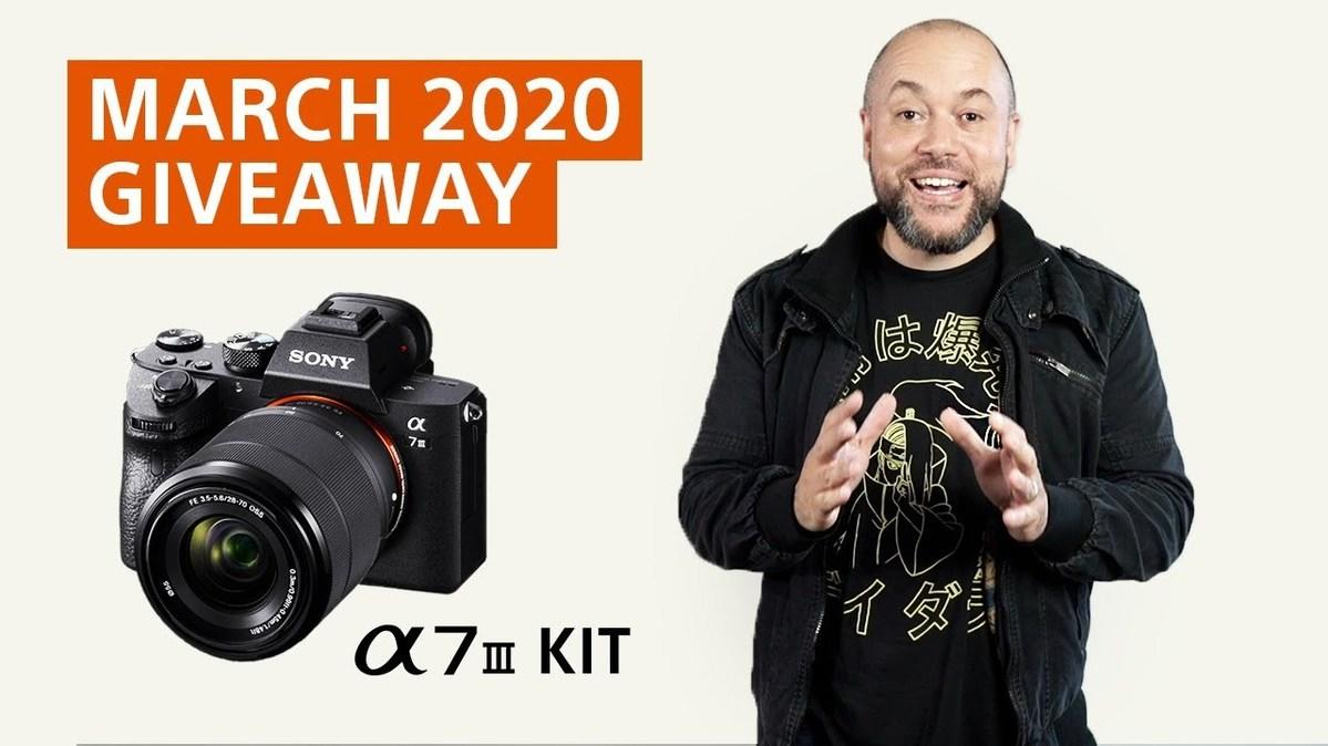March Giveaway! Win A Sony α7 III 28-70mm Zoom Lens. See How To Enter