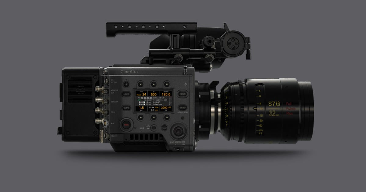 Sony's VENICE Continues to Evolve With High Frame Rate Up To 90 Frames Per Second At 6K