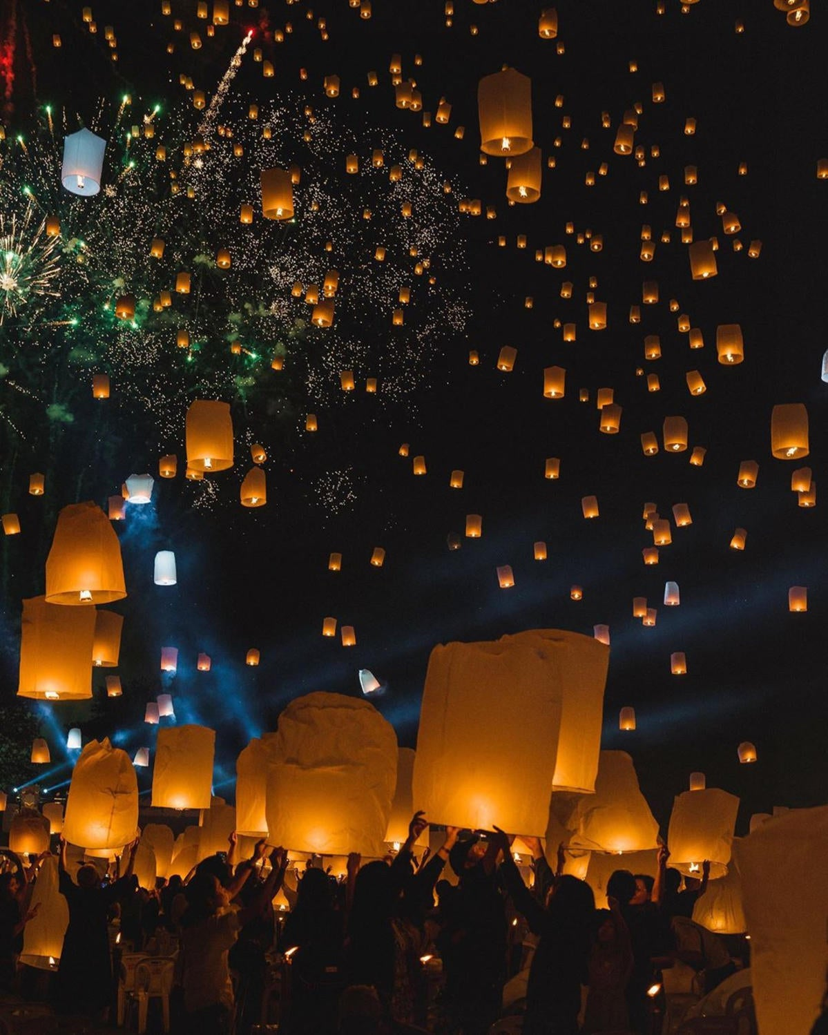 Behind The Scenes The Floating Lanterns Festival In Thailand Sony Alpha Universe