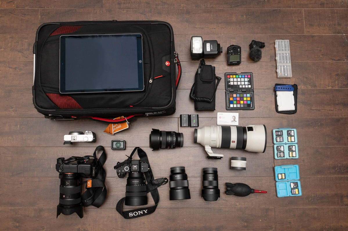 What's In My Bag: Tony Gale's Travel Gear For Landscapes, Cityscapes, Portraits & More