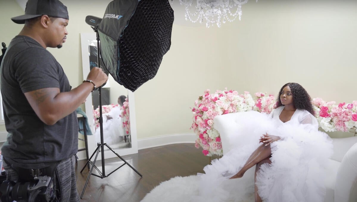 From Lenses Lights To Posing Techniques, Jermaine Horton's Tips For Styled Wedding Shoots