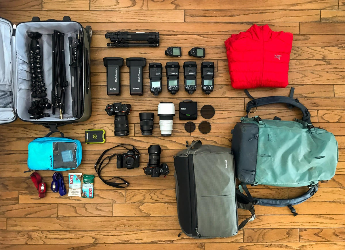 What's In My Bag: Bergreen Photography's Adventure Destination Wedding Kit