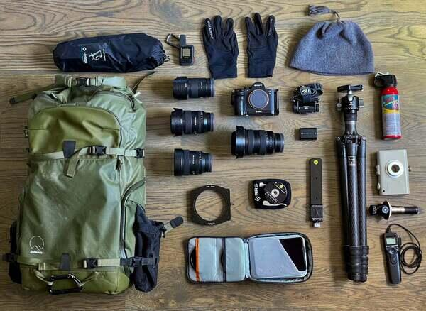 Brandt Ryder's Sony kit for landscapes and nightscapes