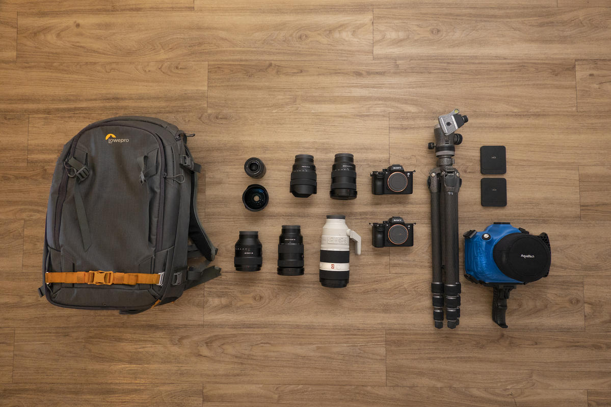 What's In My Bag: Craig Parry's Aerial, Landscape & Underwater Adventure Kit