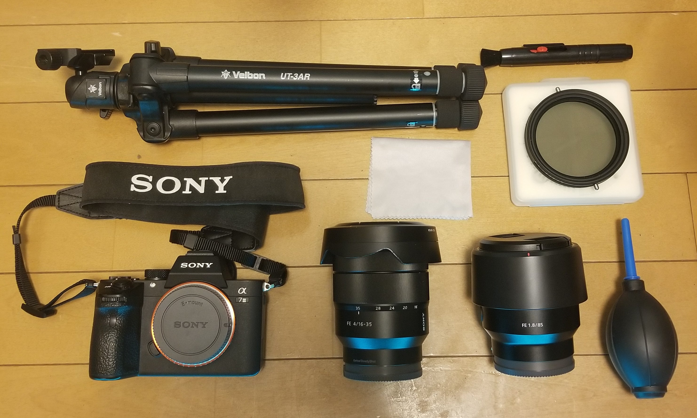 Gabriel Andre's kit for low-light travel photos and videos