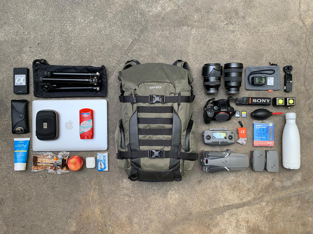 What's In My Bag: Kyle Huber's Essential Photo Gear When He Hits The Road