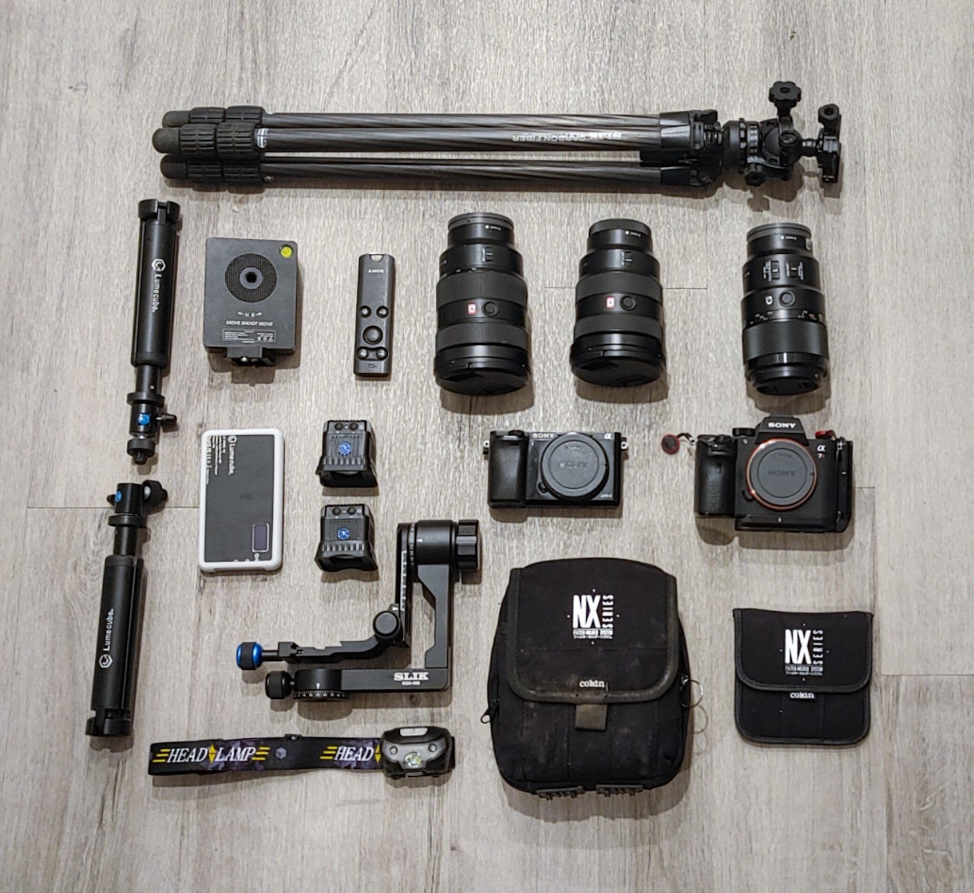 Michael Castaneda's gear for landscape and lifestyle photography