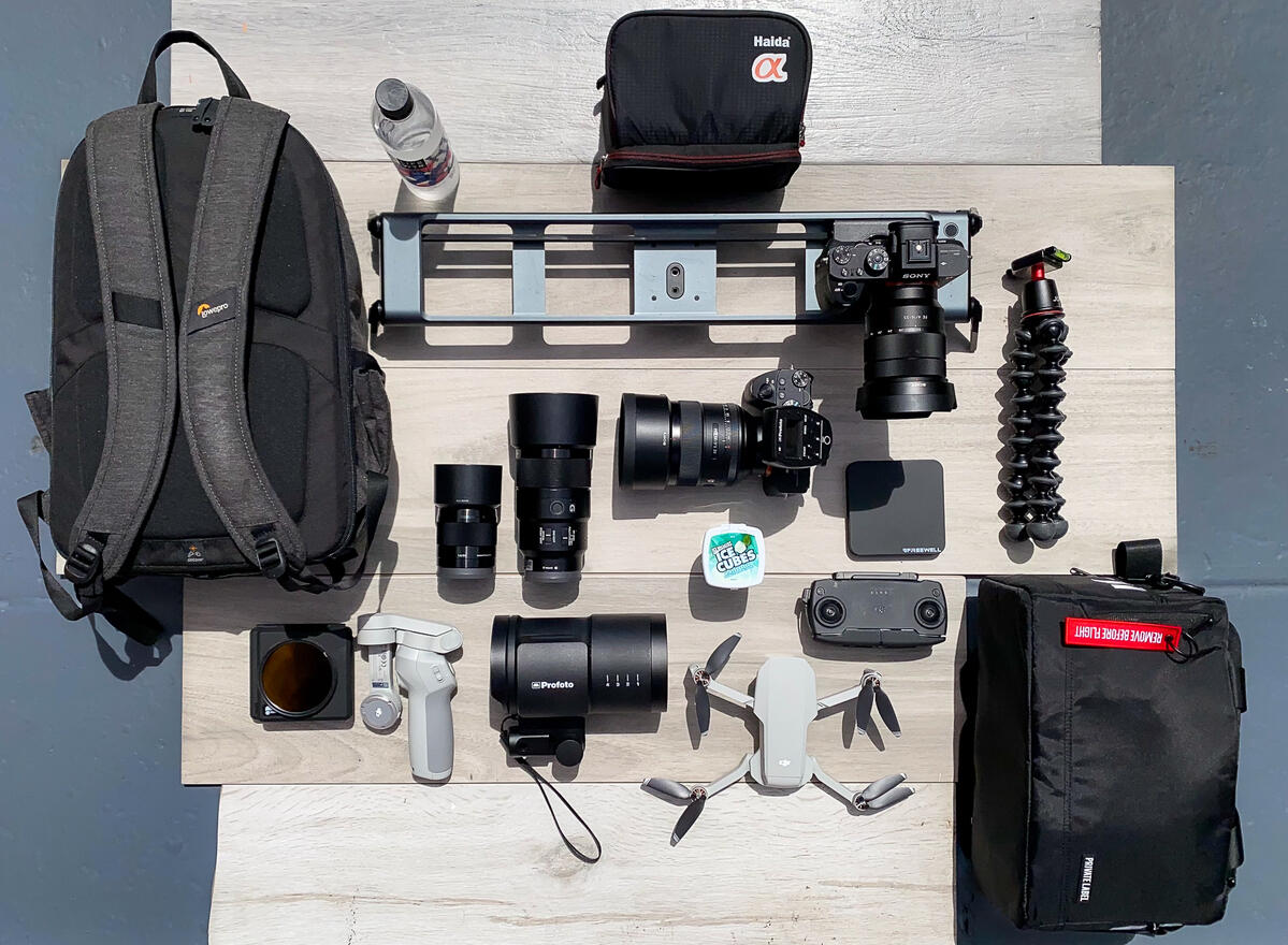 What's In My Bag: How This Multi-Talented Pro Shoots Cityscapes, Timelapse, Video More