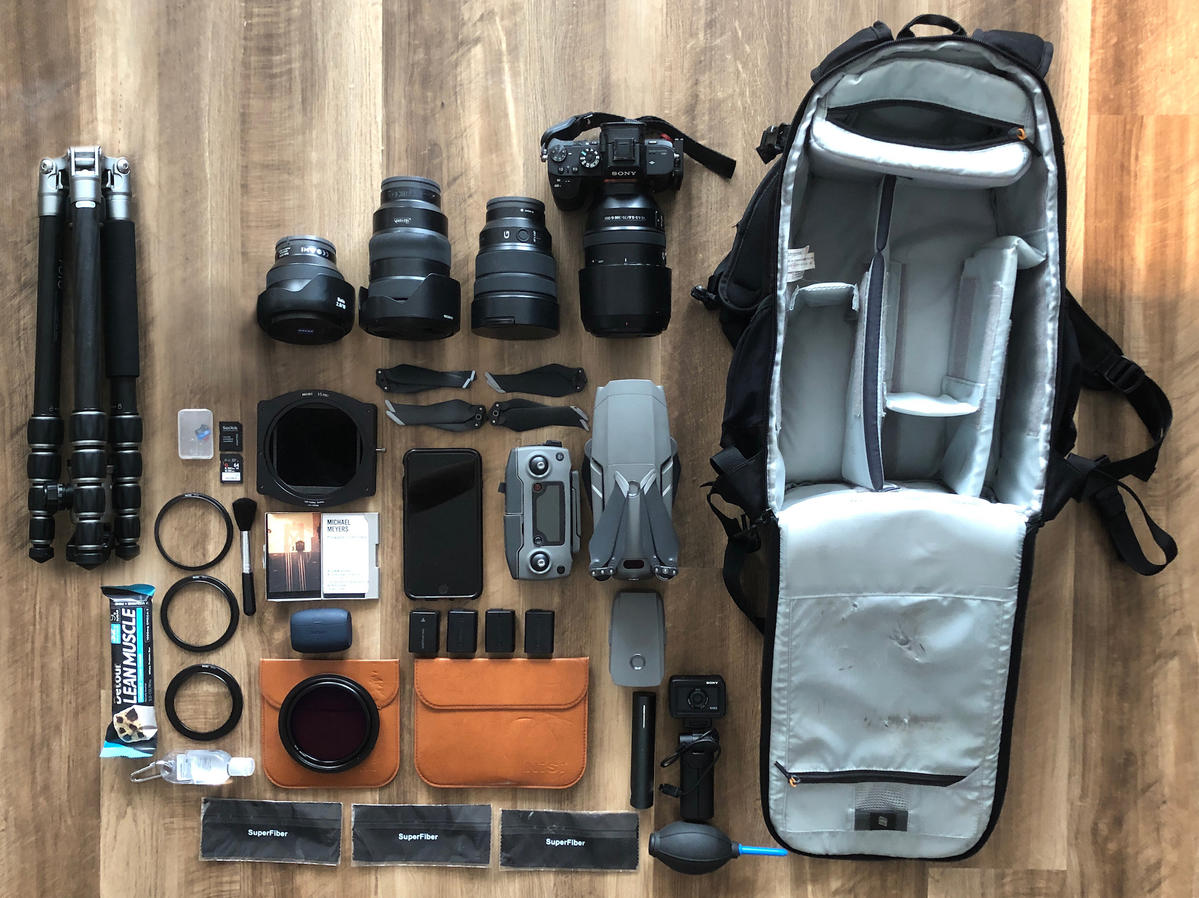 What's In My Bag: Mike Meyers' Kit For Cityscapes