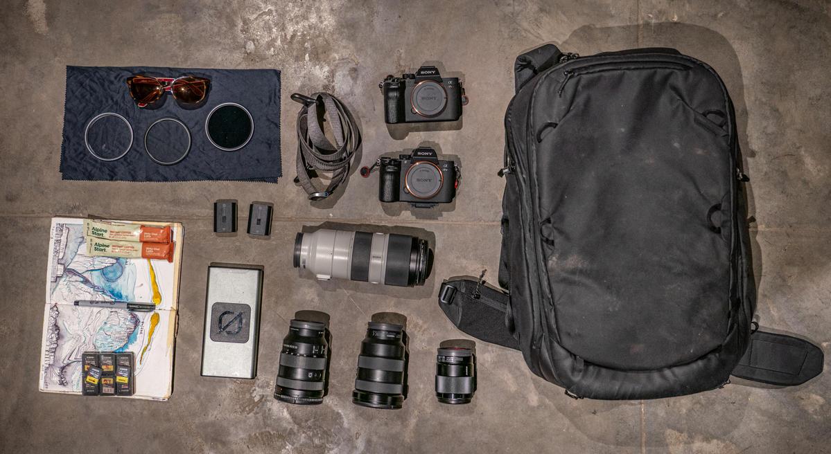 What's In My Bag: Renan Ozturk's Kit For Run Gun Filmmaking Photography