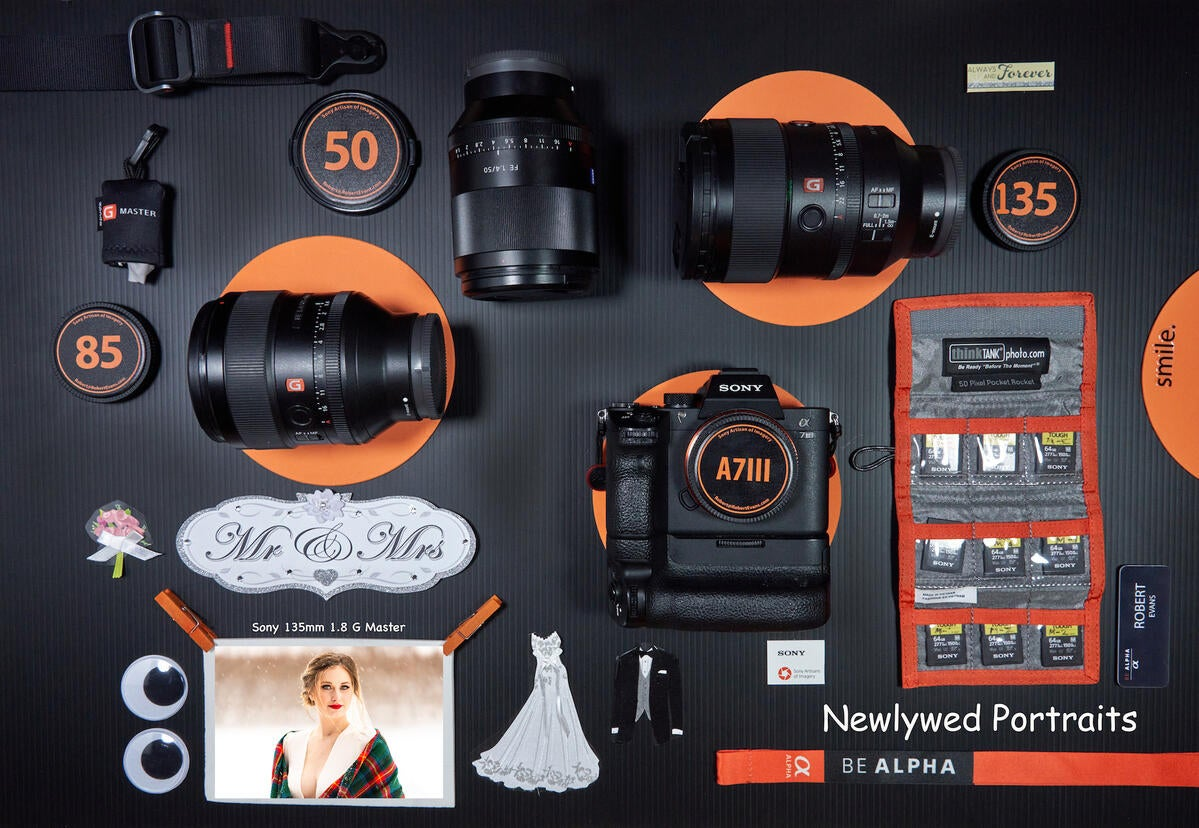 The Ultimate Gear Guide To Wedding Day Photography – Part 3: Newlywed Portraits With 3 Primes