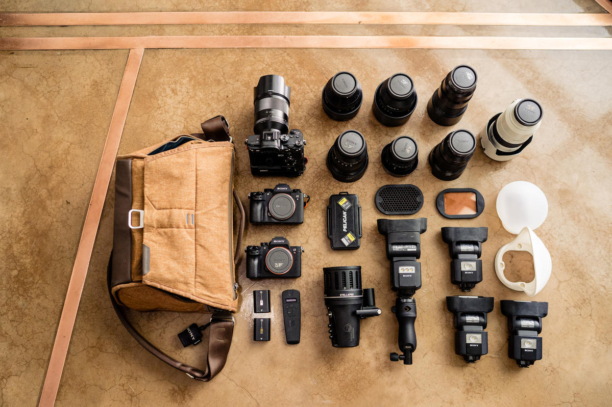 What's In My Bag: Sara France's Sony Kit For Wedding Photography