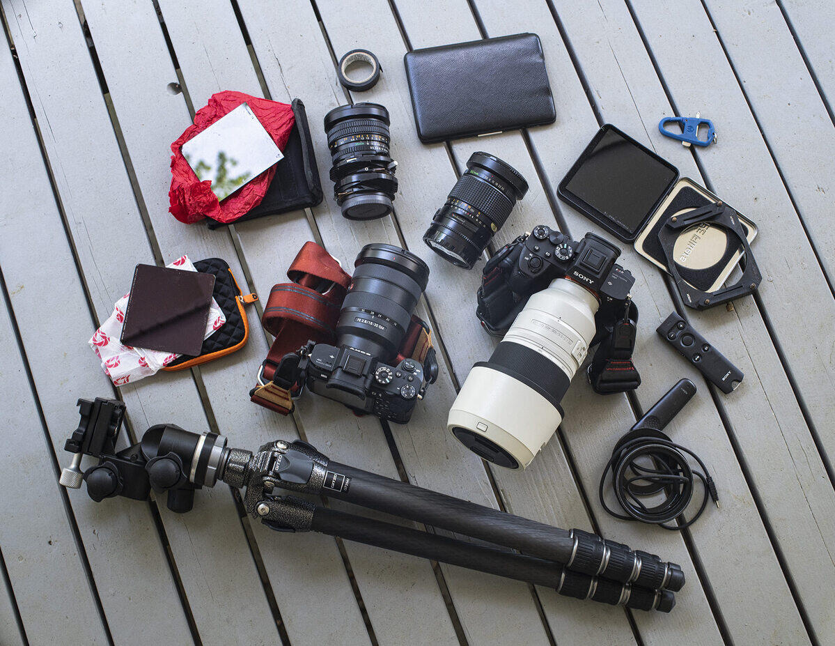 What's In My Bag: Thibault Roland's Gear For Black White Long Exposures