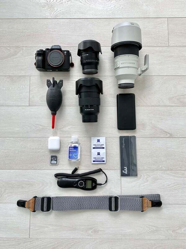 Tyler McKay's gear for street, architecture and cityscape photography
