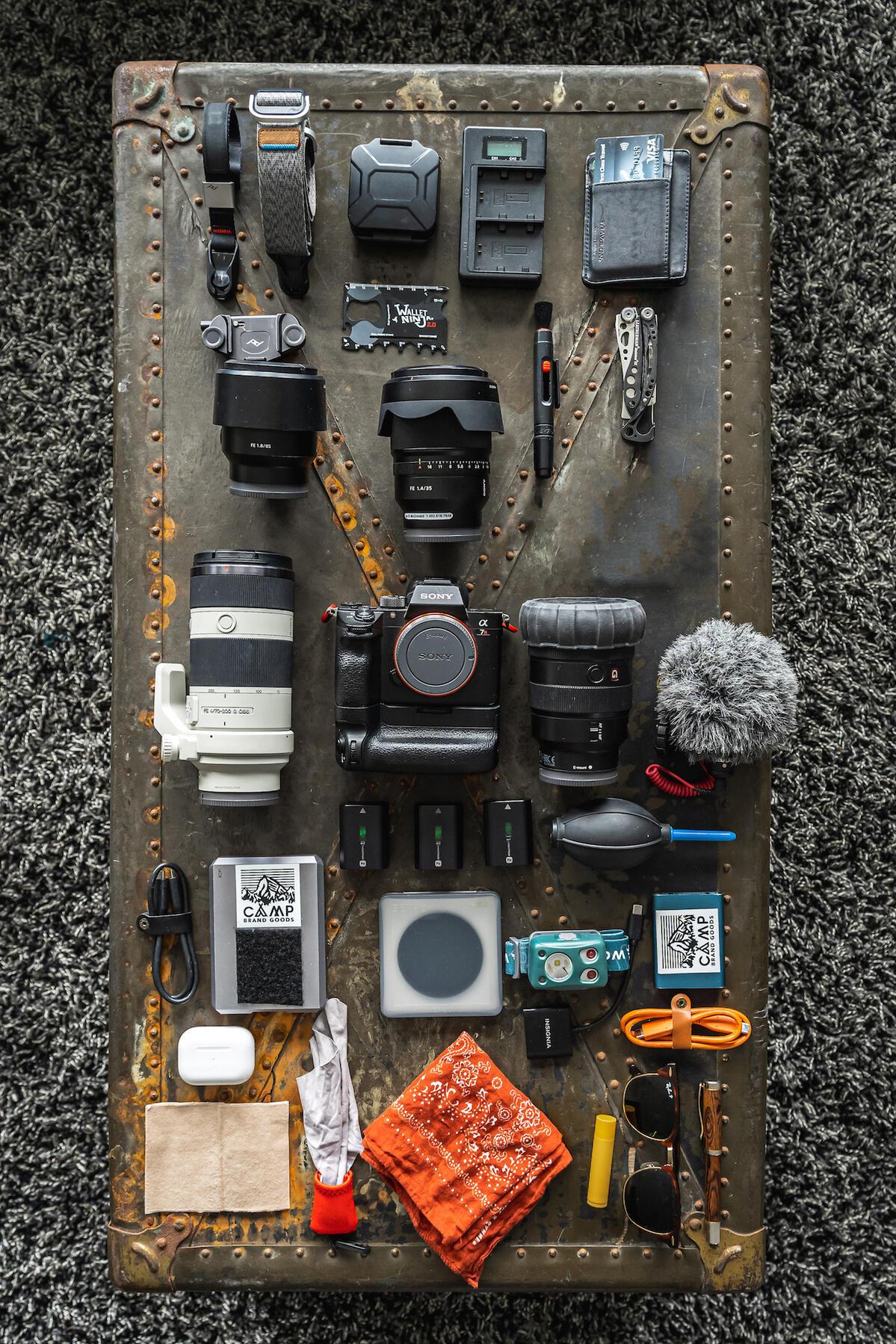 What's In My Bag: Jay R. McDonald's Run Gun Photo Kit
