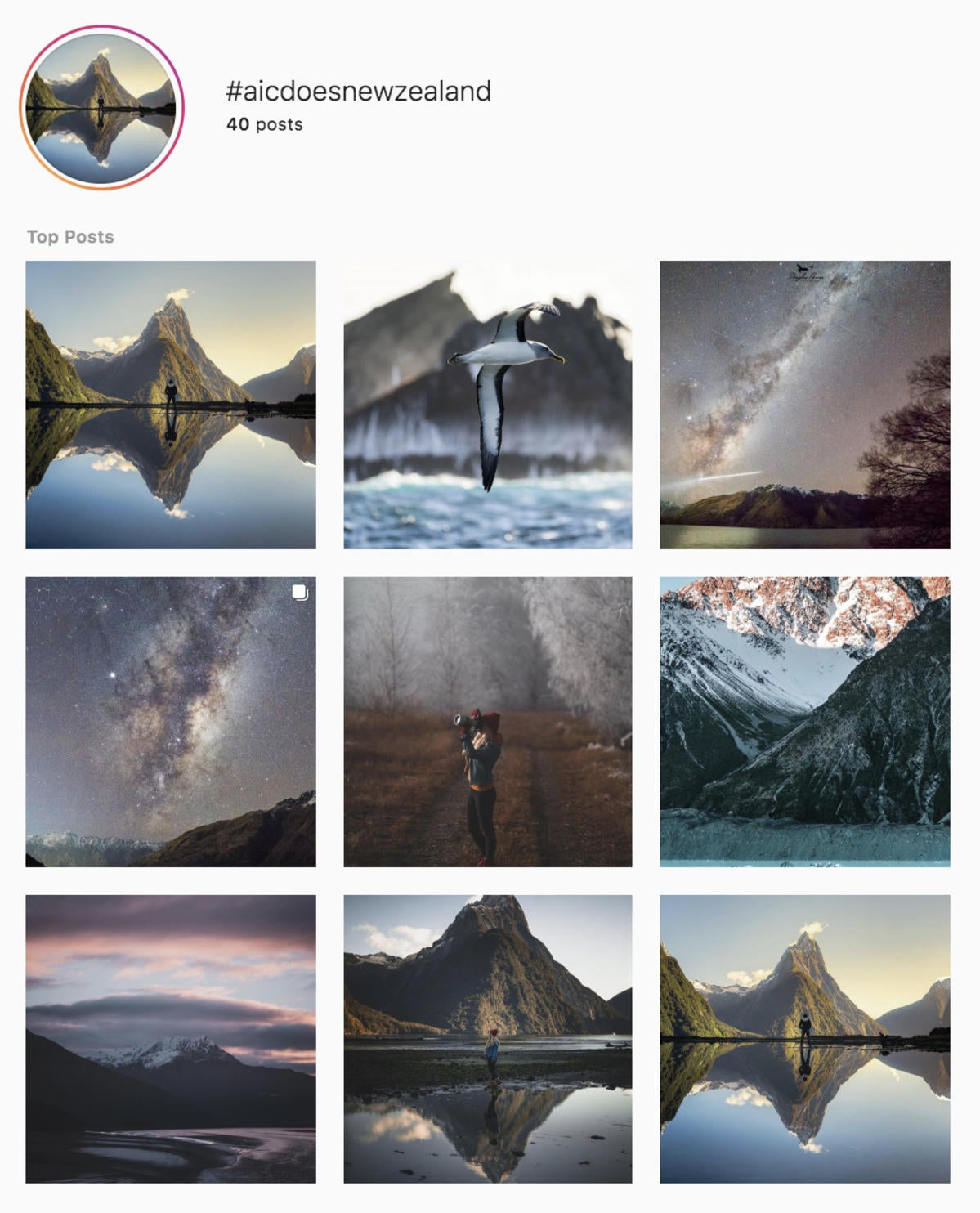 Instagram Follow Friday – #AICdoesNewZealand!