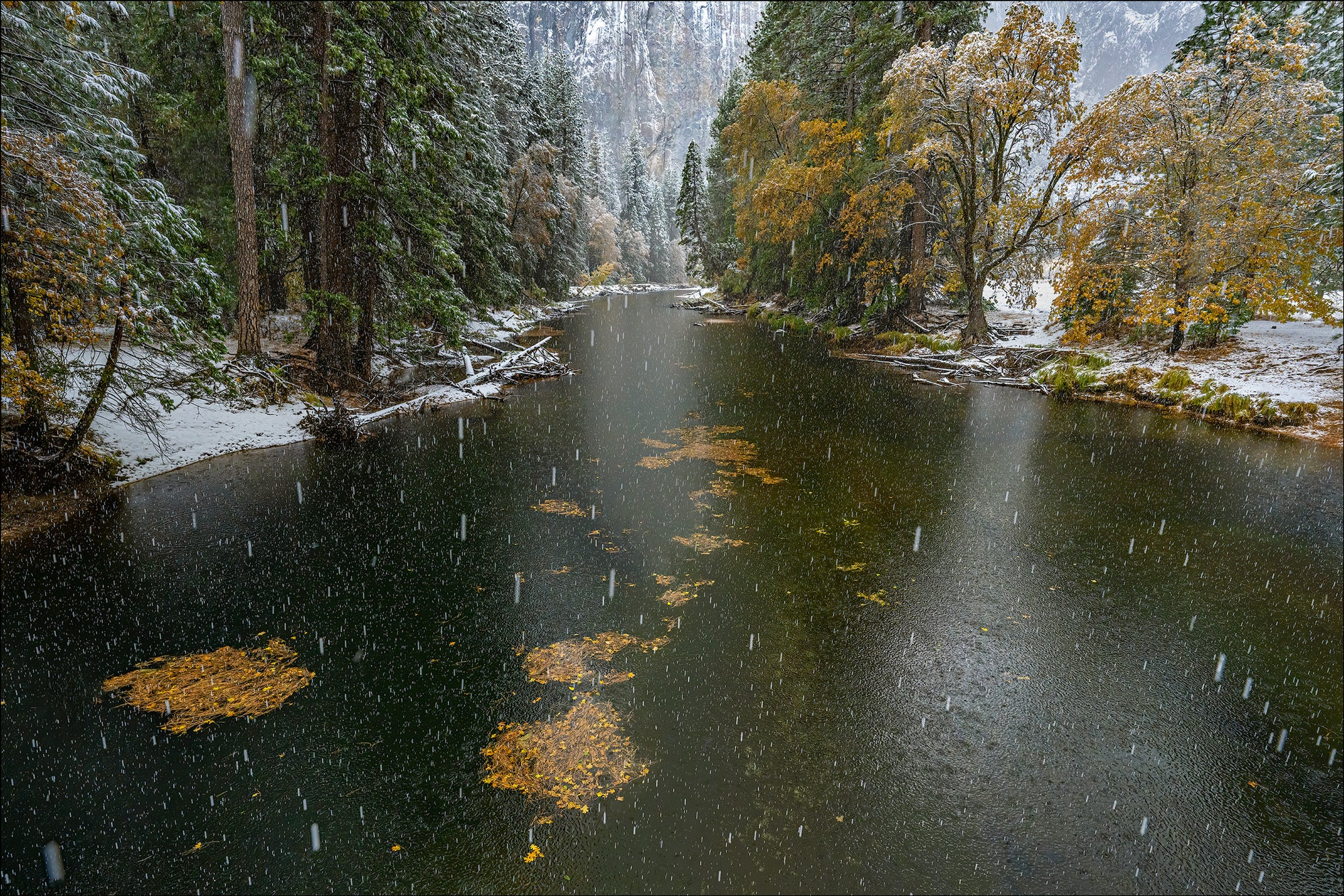 El Capitan Bridge - Photo by Gary Hart Snowfall in Yosemite with Sony 12-24mm f2.8 G Master Lens and A7R IV - Alpha Universe