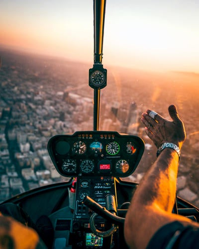 Dylan Schwartz Flies Over LA with the α9