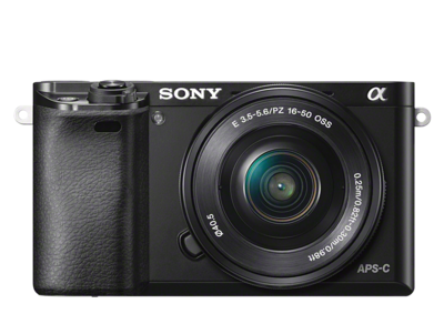 Sony α6000 + 16-50mm Lens- All Colors