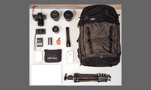 What's In My Bag: Max Boncina Hears The Siren Call Of Wide-Angle Landscapes