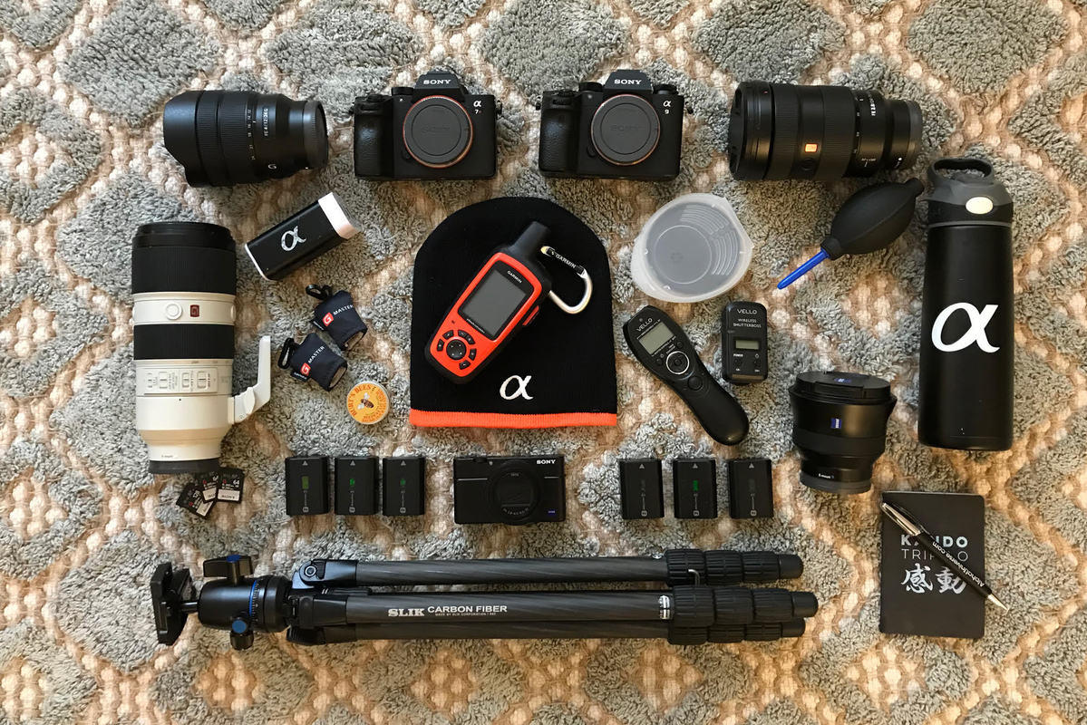 What's In My Bag: Rachel Ross' Kit For Landscapes & Astroscapes On A Backcountry Trek