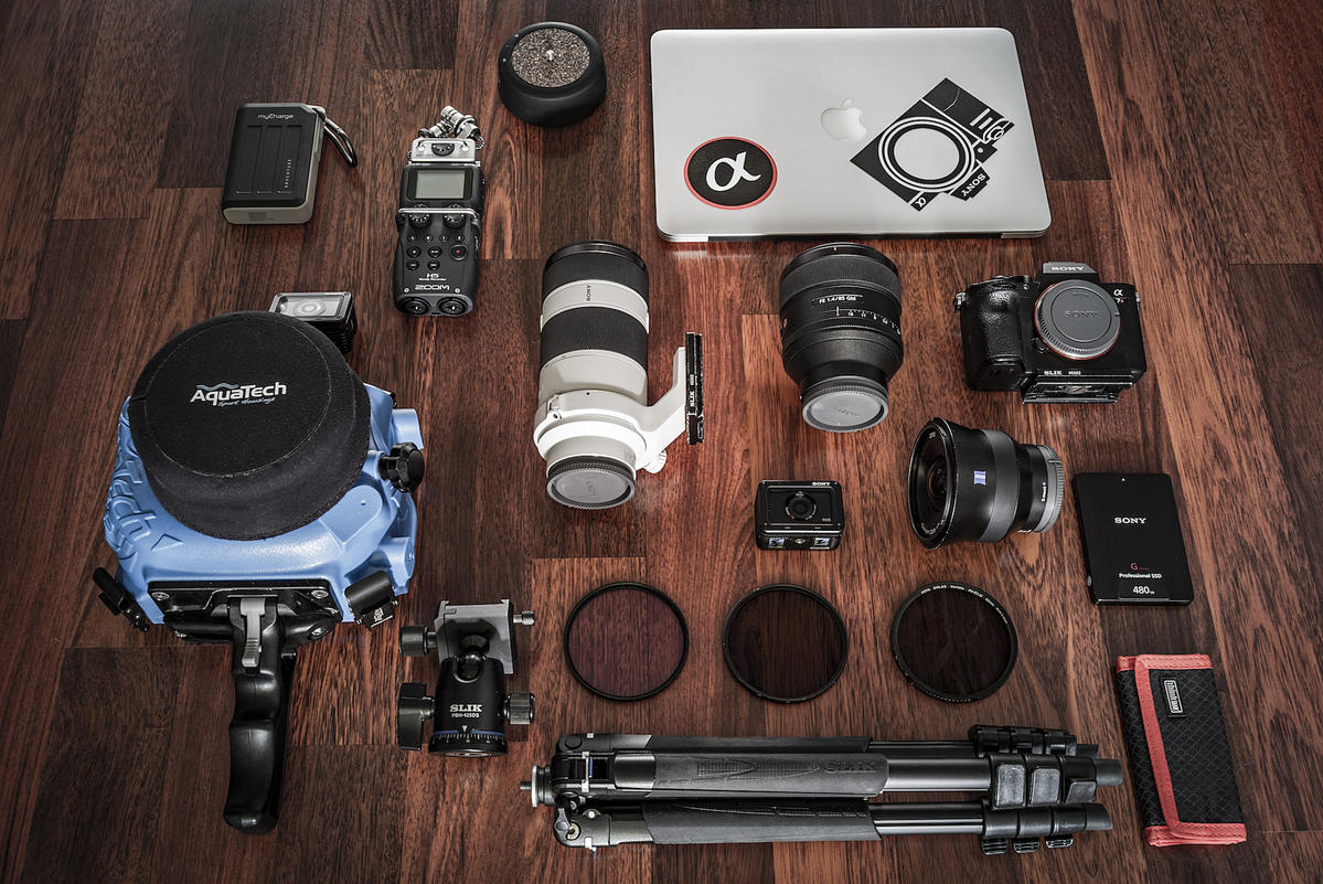What's In My Bag: Stan Moniz' Kit For Underwater Action