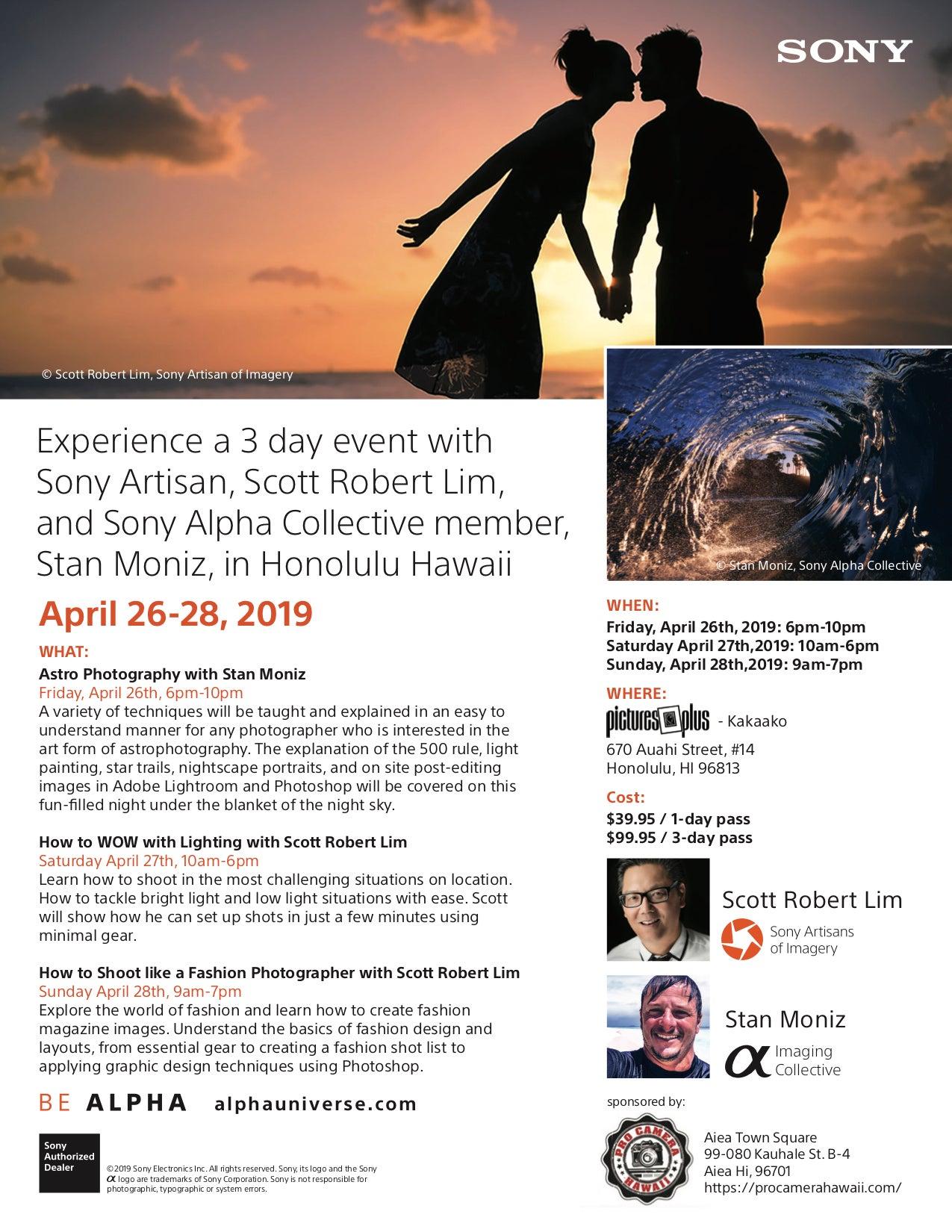 Be Alpha Hawaii 3-Day Event With Stan Moniz And Scott Robert