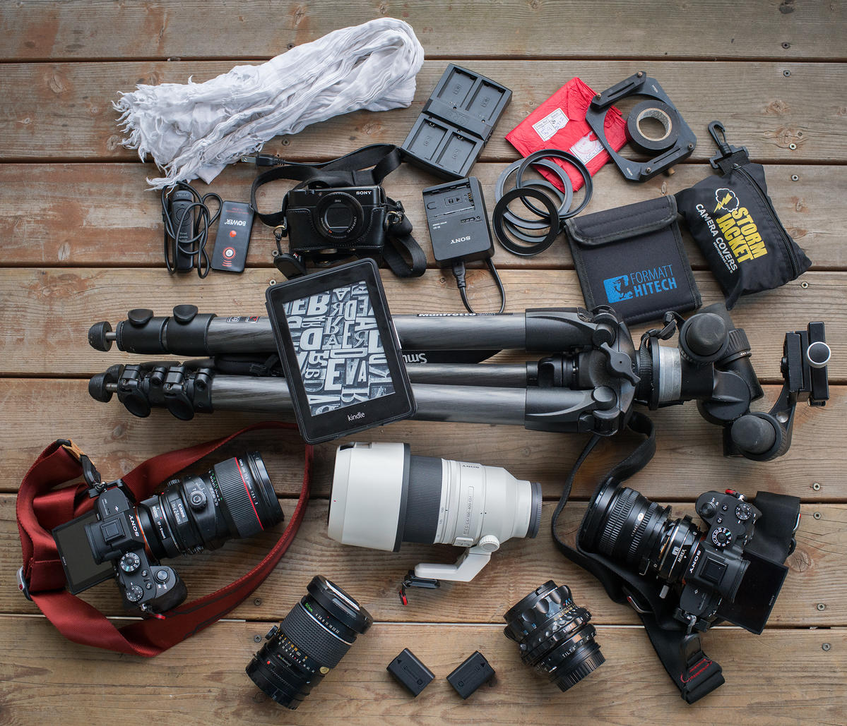 What's In My Bag For Long Exposures