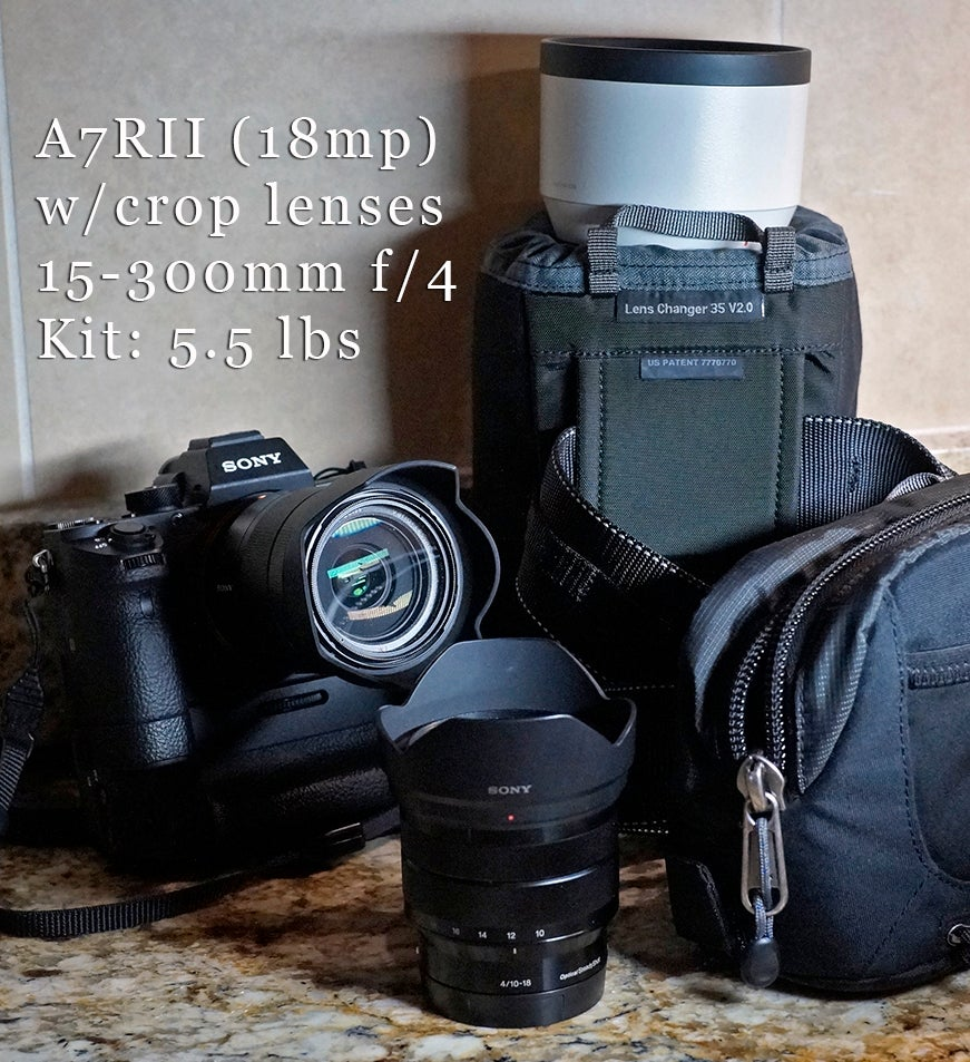 Max Versatility Think About Aps C Lenses On A Full Frame Camera Peak Design Lens Kit Sony E Fe Mount This Week I Stared Into The Equipment Locker Trying To What Wanted Take Cover An Athletic Department Press Conference Over At Ut