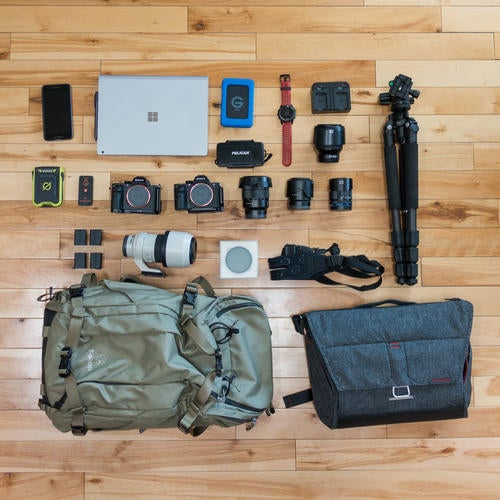 What's In My Bag: Colby Brown