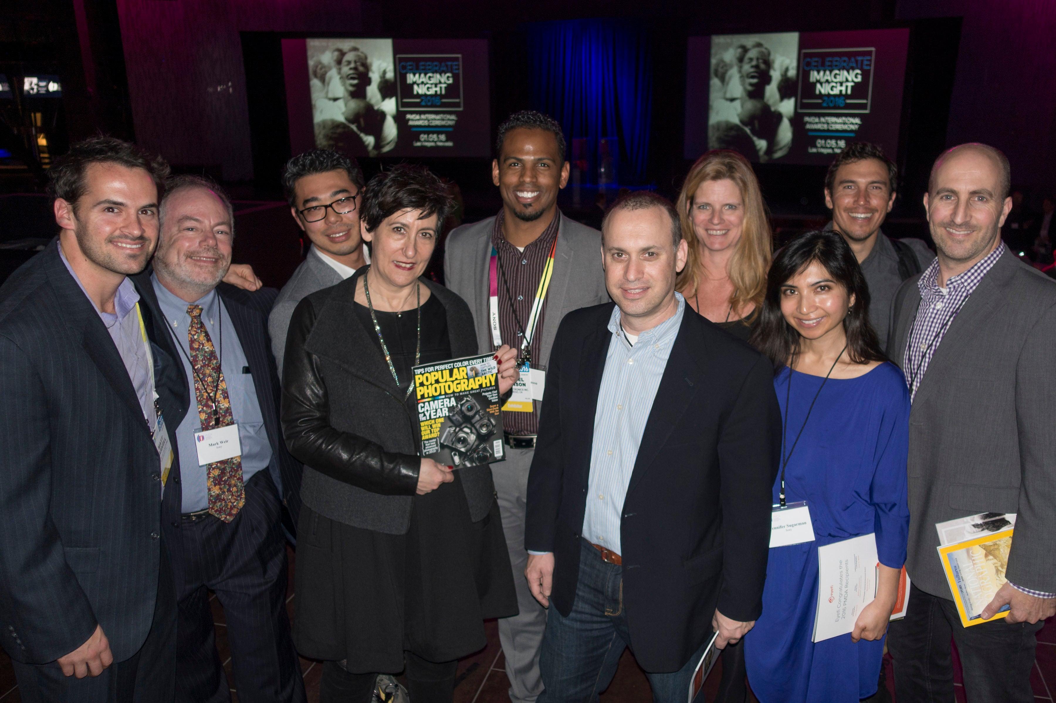 PopPhoto Editor and Sony Team COTY 2015