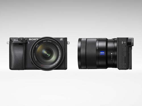 Sony présente son nouvel appareil photo sans miroir α6300 et sa gamme d'objectifs interchangeables G MasterMD