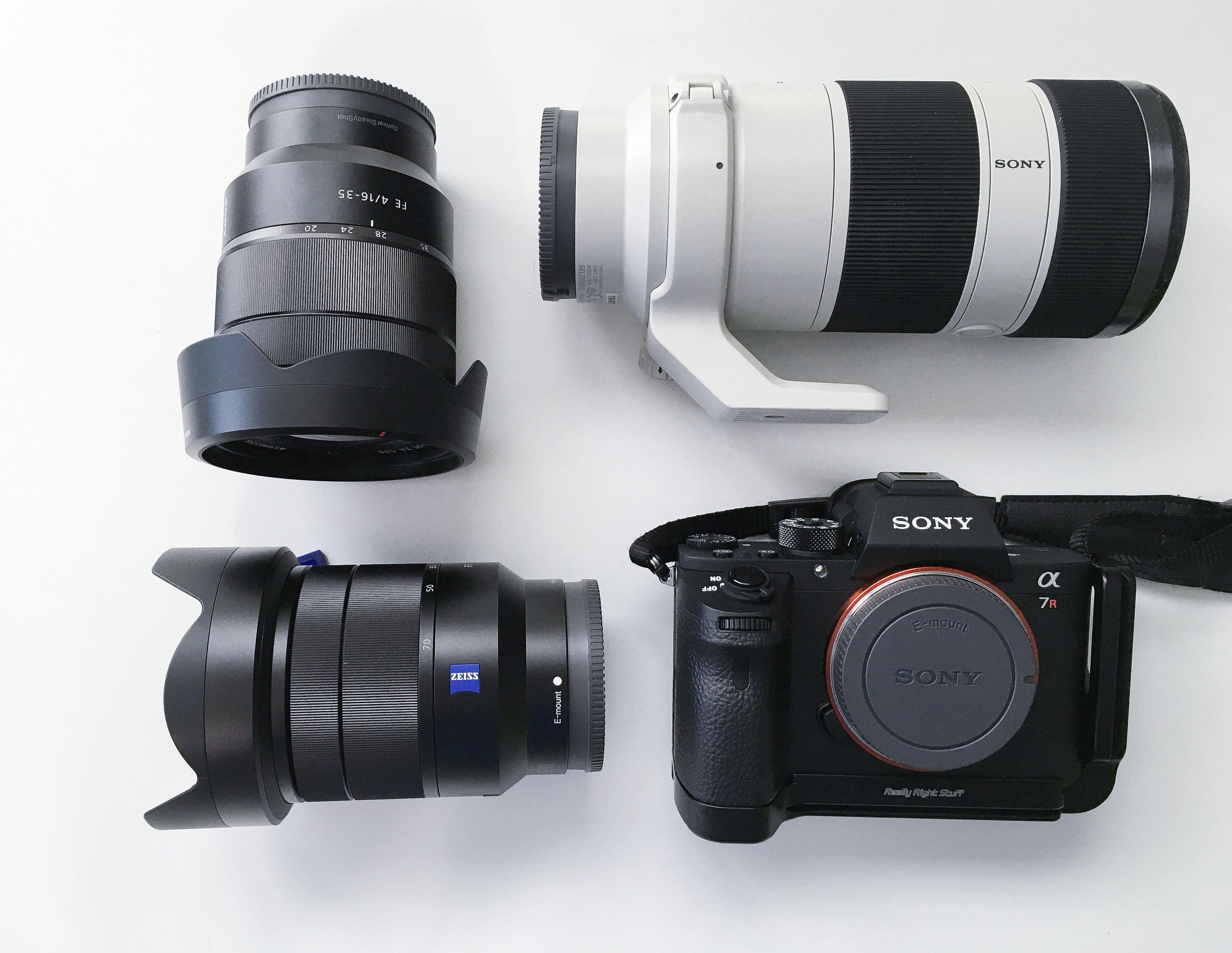 Matt Kloskowski's Sony A7R II Kit