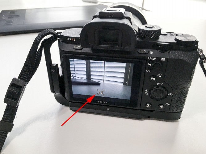Focus points in the Sony A7R II extend close to the edge of the frame