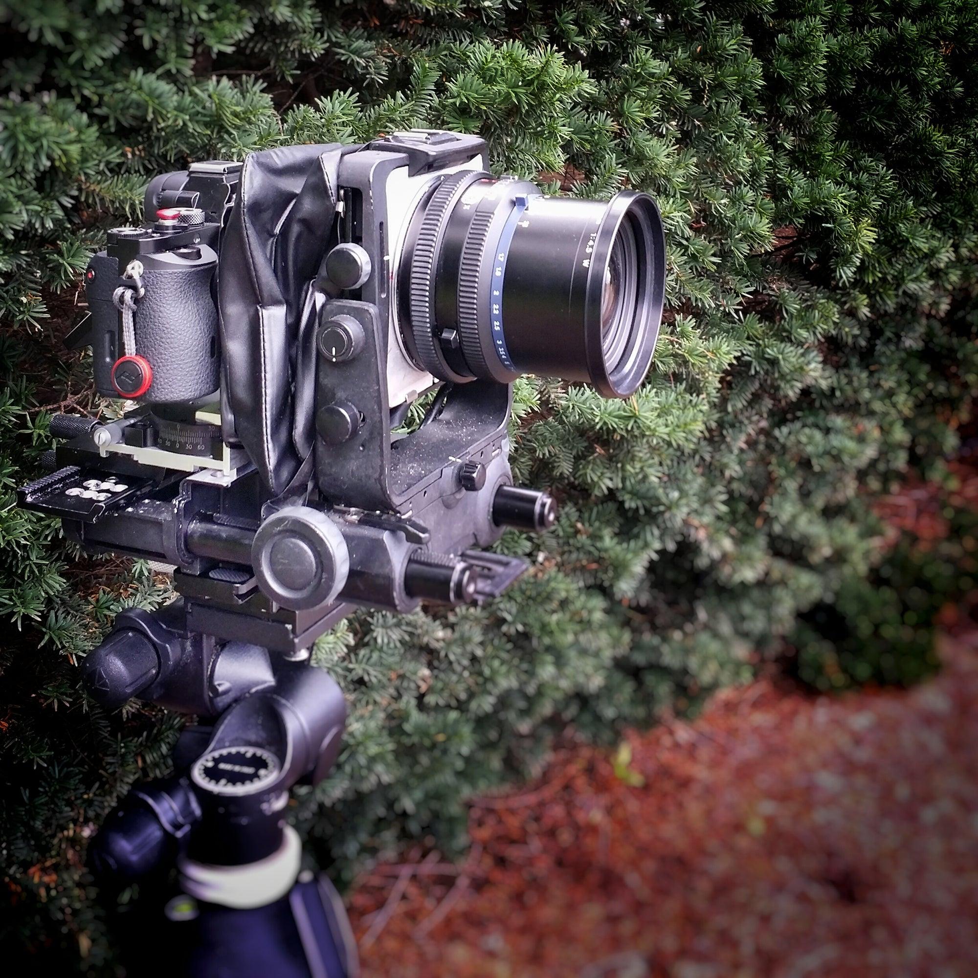 Make A Mirrorless Camera Into A Digital View Camera | Sony