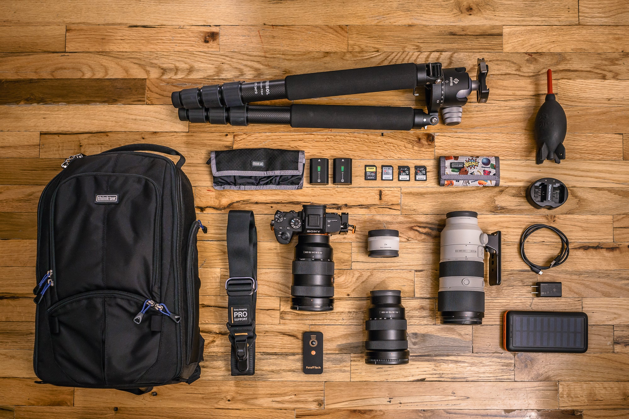 What's in My Bag: Marco DeGennaro's Sony Cameras & Lenses