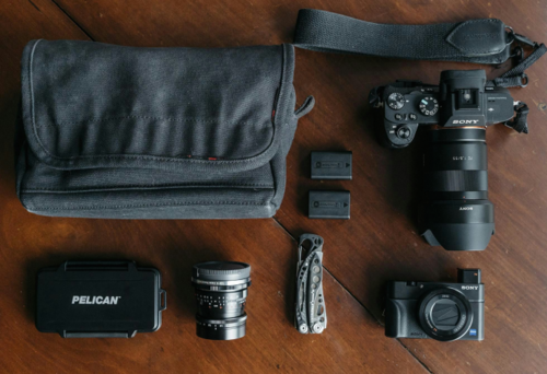 What's In My Bag: Street Photography