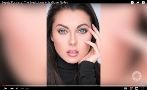 Miguel Quiles In The Breakdown: One-Light Beauty Techniques